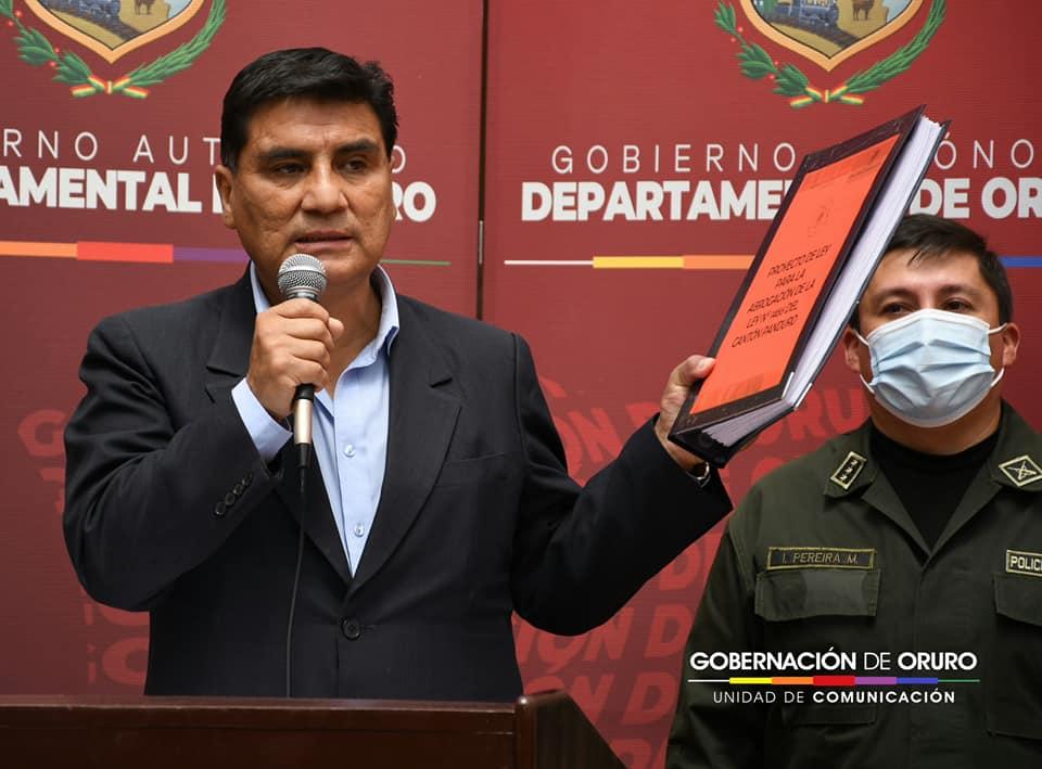Gobernación presentó proyecto de ley para que la asamblea nacional abrogue la ley n° 1466